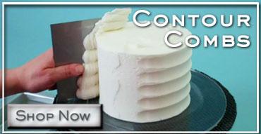 Cake Contour Combs Button