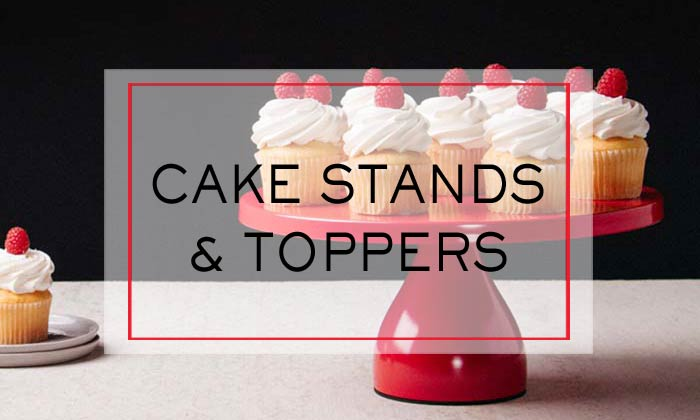 Cake Stands & Toppers