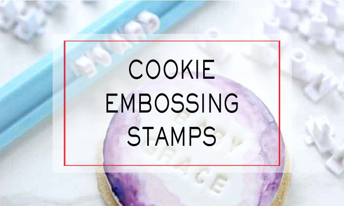 Cookie Embossing Stamps
