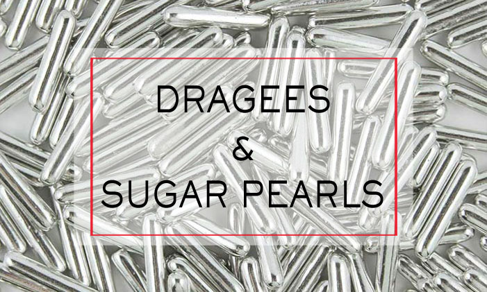Dragees and Sugar Pearls
