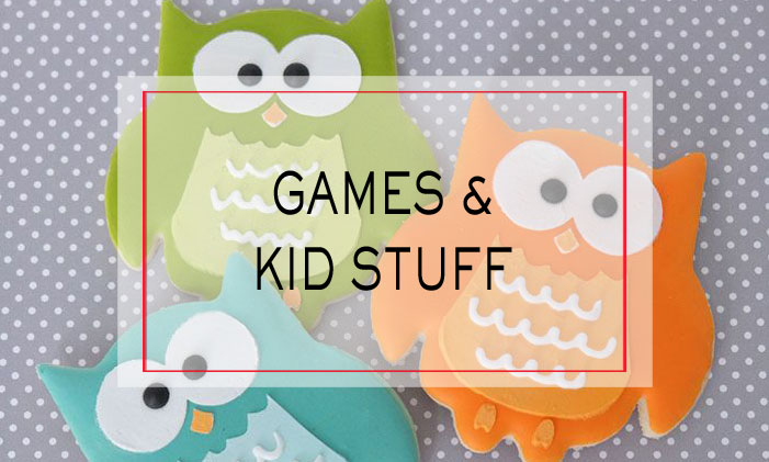 Games and Kid Stuff