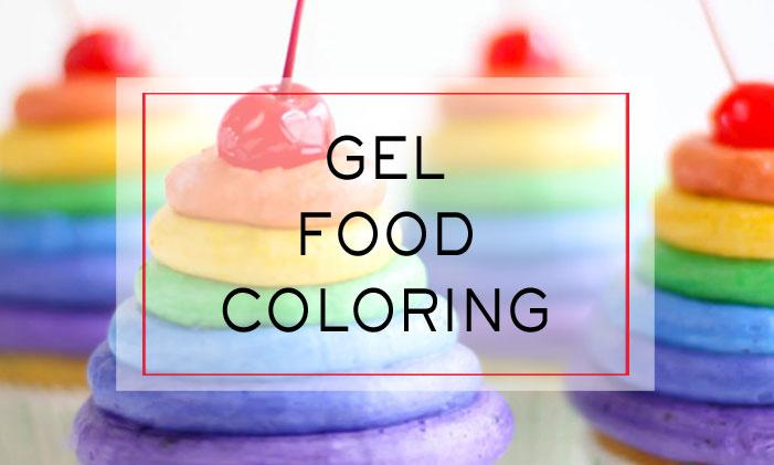 Gel Food Color