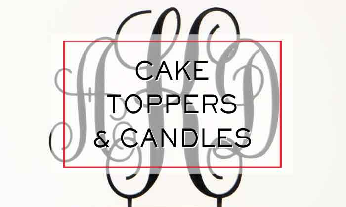 Cake Toppers and Candles