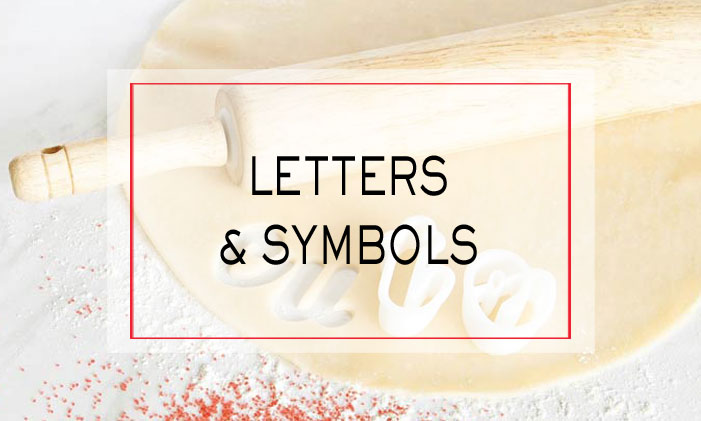 Letter and Symbol Cutters