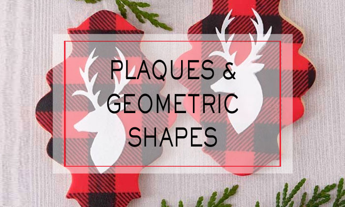 Plaques & Geometric Shape Cutters