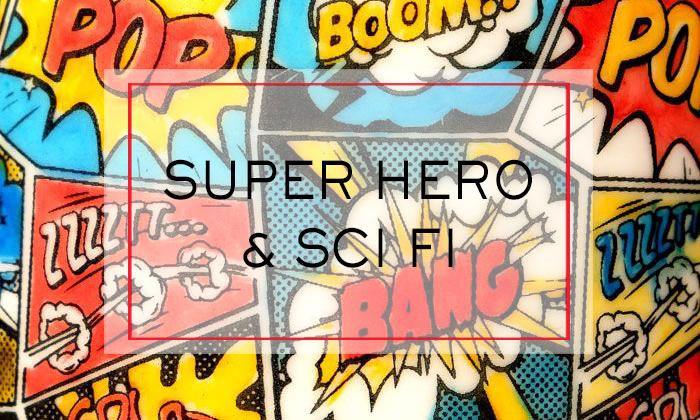 Super Hero Sci Fi