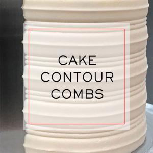 Cake Contour Combs