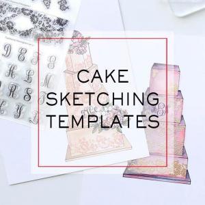 Cake Sketching Templates