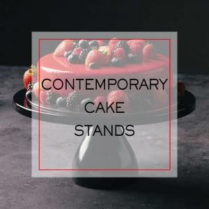 Contemporary Cake Stands