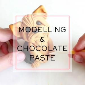 Modeling and Chocolate Paste