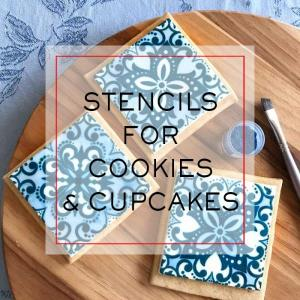 Stencils For Cookies & Cupcakes