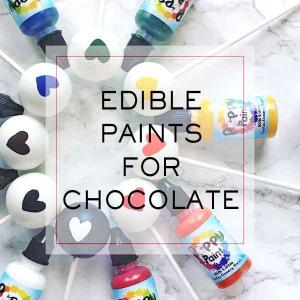 Edible Paints for Chocolate