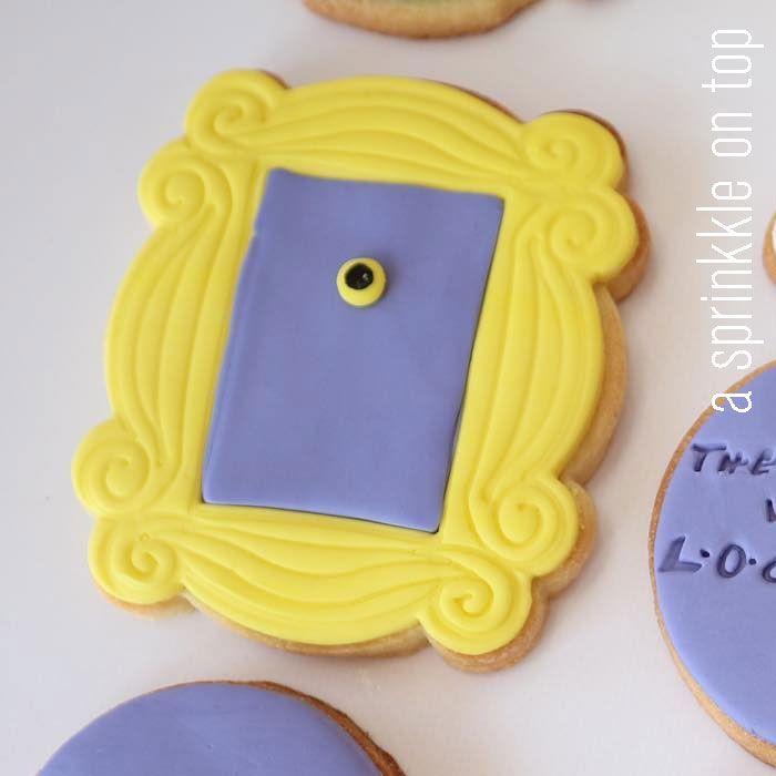 3 Sizes Friends Door Frame Cookie Cutter