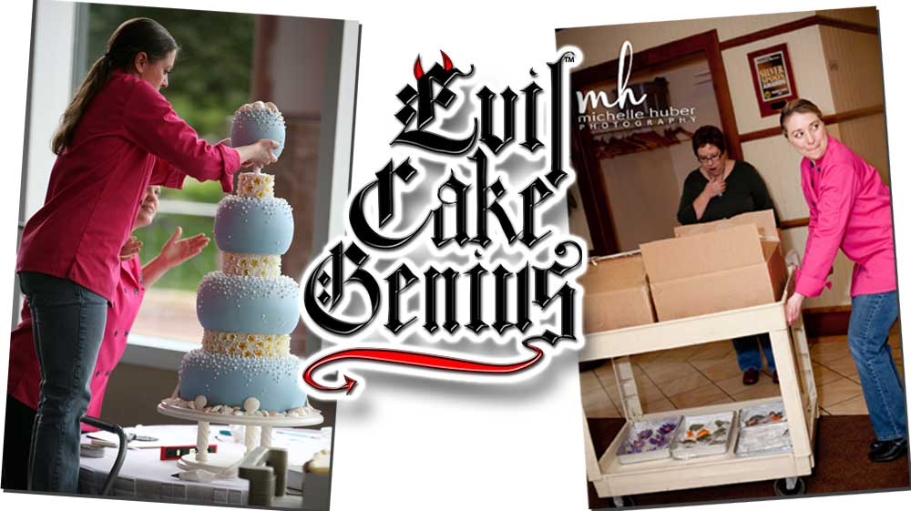 Evil Cake Genius Stacking