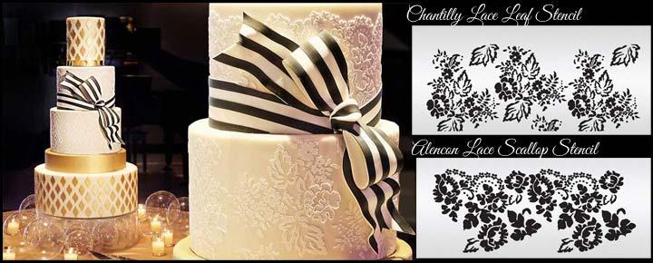 Lace Inspiration Cake