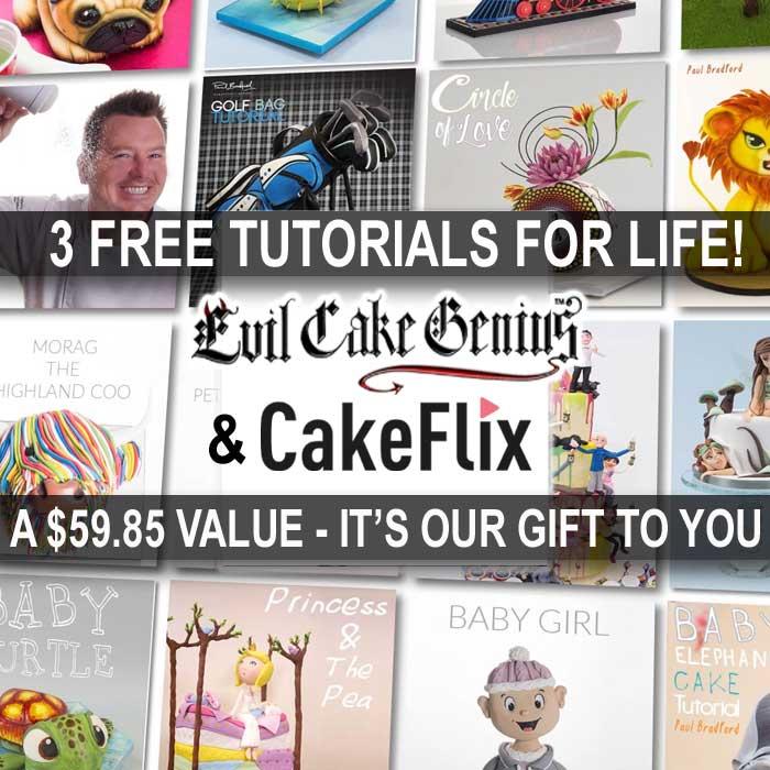 3 Free CakeFlix Tutorials