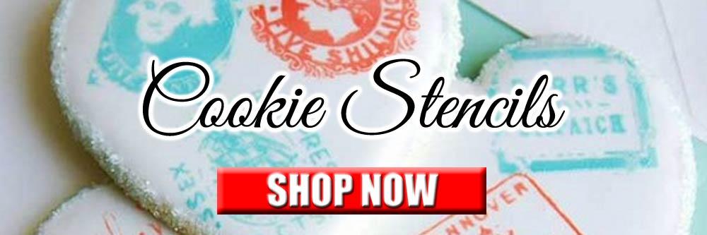 Cookie Stencils Shop Now