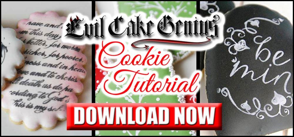 Cookie Stencil Tutorial Download
