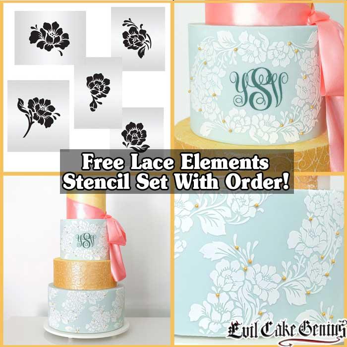 Rose Lace Elements