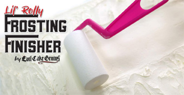 Lil' Rolly Frosting Finisher by Evil Cake Genius