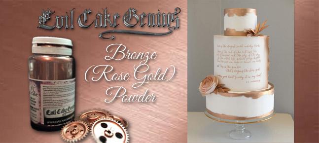Rose Gold - Evil Cake Genius
