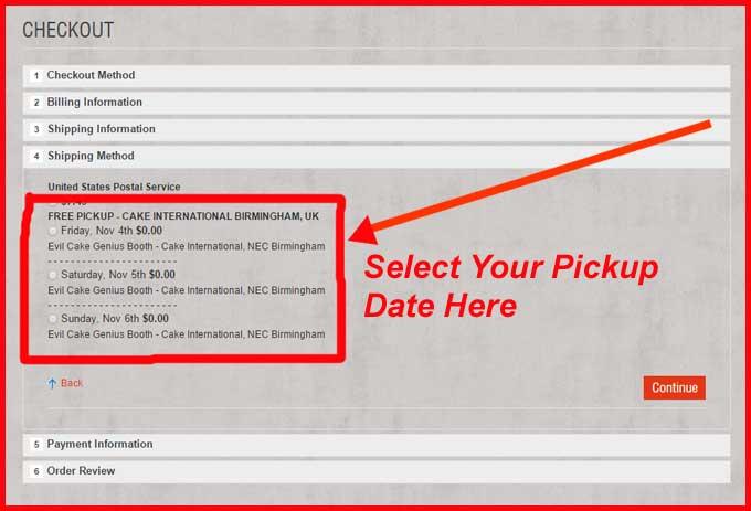 Pickup Selections