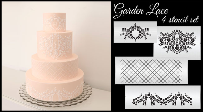 Garden Lace Stencils